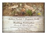 Camo Wedding Invites Rustic Camo and Wood Country Wedding Invitations Zazzle Com