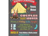 Camping themed Baby Shower Invitations Chalkboard Camping Baby Shower Invitations