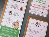 Camping themed Wedding Invitations A Camp themed Wedding Invitation so Happy I Was Able to B