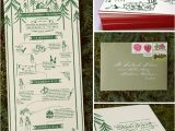 Camping themed Wedding Invitations Real Wedding Katie Cameron 39 S Camp Wedding Green