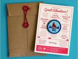Camping themed Wedding Invitations these are the Coolest Wedding Invites Ever