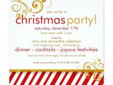 Candy Cane Christmas Party Invitations Candy Cane Christmas Party Invitation