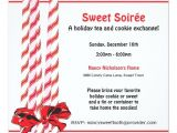Candy Cane Christmas Party Invitations Sweet Candy Cane Holiday Party Invitation