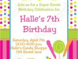 Candy themed Party Invitations Free Printable Chocolate theme Invitations for A Birthday