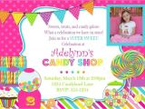Candyland Birthday Party Invitation Ideas Candyland theme Party Invitations A Birthday Cake