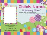 Candyland Birthday Party Invitation Ideas Free Printable Candyland Invitation Blank Template