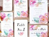 Card Factory Party Invitations Summer Bloom Wedding Invitation