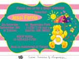 Care Bear Baby Shower Invitations 12 Best Care Bears Images On Pinterest