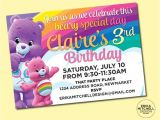Care Bears Birthday Party Invitations Care Bears Birthday Invite Digital File Custom Birthday