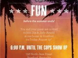 Caribbean Party Invitations themed Party Invitations Oxsvitation Com