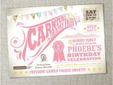 Carnival 1st Birthday Invitations Items Similar to Kids Birthday Party