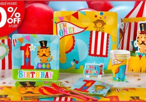 Carnival Invitations Party City 1st Birthday Party Script Just B Cause