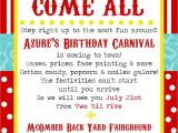 Carnival Party Invitation Wording Simplycumorah Carnival Party Behind the Scenes