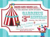 Carnival Ticket Birthday Party Invitations Carnival Ticket Invitation Templates
