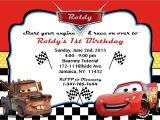 Cars Birthday Party Invitation Templates Free Cars Party Invitation orderecigsjuice Info