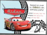 Cars Birthday Party Invitations Templates Cars Birthday Invitation