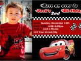 Cars Birthday Party Invitations Templates Disney Cars Birthday Invitation Templates