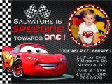 Cars themed Birthday Invitation Card Disney Birthday Invitation Disney Birthday Invitation