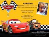 Cars themed Birthday Invitation Card Disney Cars Birthday Invitations Ideas Bagvania Free