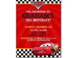 Cars themed Birthday Invitation Cars Birthday Ideas Pinterest Roundup