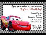 Cars themed Invitation Birthday Cars Birthday Invitations Printable Best Party Ideas