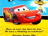 Cars themed Invitation Birthday Unavailable Listing On Etsy
