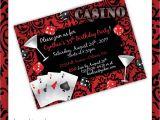 Casino Invites for Parties Casino Party Invitations Casino Blush by
