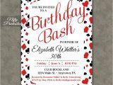 Casino Invites for Parties Casino Poker Birthday Invitations Nifty Printables