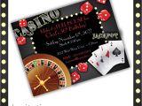 Casino Party Invitations Templates Free Casino Invitations Casino Night Casino Birthday