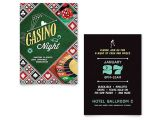 Casino Party Invitations Templates Free Casino Night Invitation Template Word & Publisher