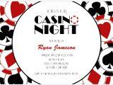 Casino Party Invitations Templates Free Casino Party Invitations