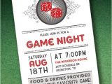 Casino Party Invitations Templates Free Diy Casino Night Invitation Template with Dice From
