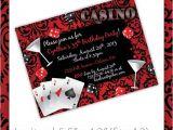 Casino Party Invitations Templates Free Party Invitation