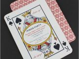 Casino theme Party Invitations Template Free Diy Poker Night Invitation Template From Downloadandprint