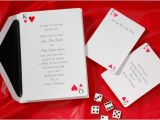 Casino themed Wedding Invitations Mad themes Made Practical Grace Rose events