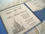 Castle Wedding Invitations Design Fairytale Castle Pocketfold Wedding Invitation Sample