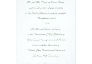 Catholic Wedding Invitation Template Catholic Wedding Set Invitation Template Cc Zazzle
