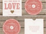 Cd Wedding Invitations Cardboard Disc 39 Cd 39 Wedding Invitation with Sleeve