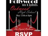 Celebrity Party Invitations Hollywood Red Carpet Invitations Shindigz