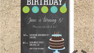 Chalkboard Birthday Invitation Template Free Chalkboard Invitation Template 43 Free Jpg Psd