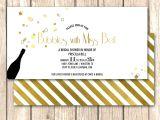 Champagne Brunch Bridal Shower Invitations Champagne Bridal Shower Invitation Bridal Brunch by
