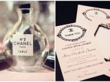 Chanel Inspired Bridal Shower Invitations Coco Chanel Archives Trueblu