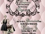 Chanel Inspired Bridal Shower Invitations G I T Creative event Planning Llc Chanel Inspired