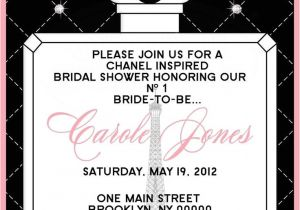 Chanel Party Invitation Template 1000 Images About Chanel themed Party On Pinterest