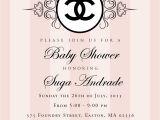 Chanel Party Invitation Template Coco Chanel Invitation Templates Various Invitation Card