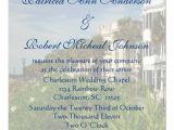 Charleston Sc Wedding Invitations Personalized Rainbow Row Charleston Sc Wedding 5 25