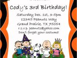 Charlie Brown 1st Birthday Invitations Items Similar to Peanuts Charlie Brown Halloween Party