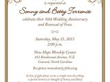 Cheap 50th Wedding Anniversary Invitations 50th Wedding Anniversary Invitation