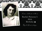 Cheap 80th Birthday Invitations Design Card Birthday Invitation Invitation Templates
