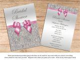 Cheap Bling Wedding Invitations Bridal Shower Wedding Invitations Silver Sequins Bling Your